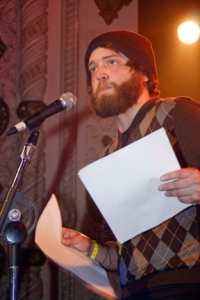 David Peak reads for Apostrophe Cast